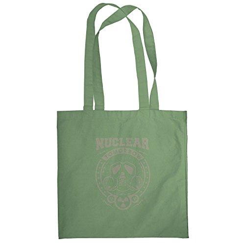 Texlab–Nuclear Tomorrow–sacchetto di stoffa Oliva