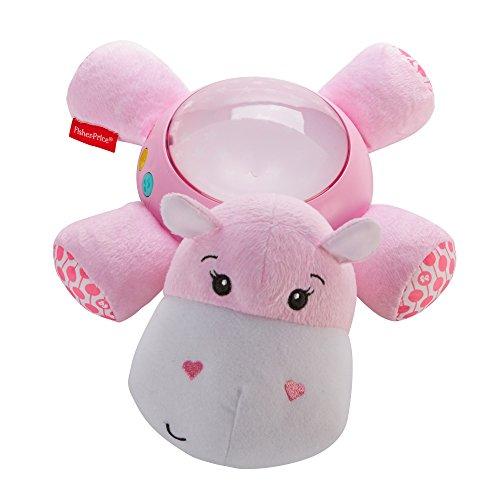 Fisher Price FGG89 Schlummerlicht Spieluhr, rosa (Tabletop-nacht-licht)