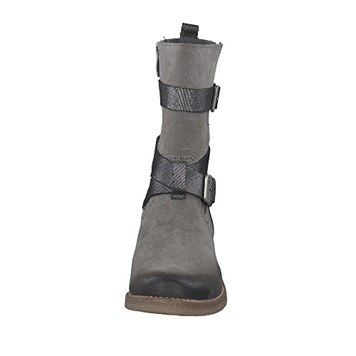 Be Natural Damen 26404 Stiefel Graphit
