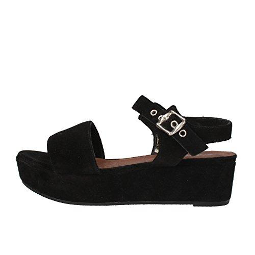 CARMENS sandali donna nero camoscio AF655 (37 EU)