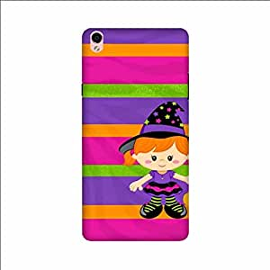 Yashas High Quality Designer Printed Case & Cover for Oppo F1 plus (Cute Dool)