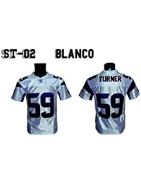 NY FRIDAYS Camiseta Fútbol Americano Blanca ST/02 ...