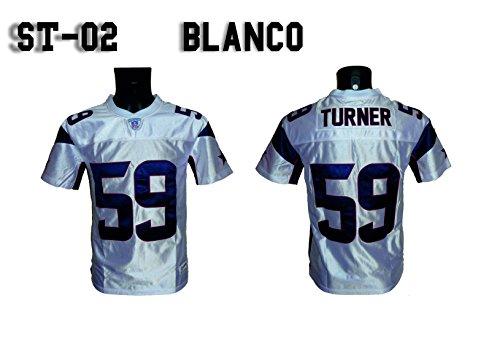 NY FRIDAYS Camiseta Fútbol Americano Blanca ST 02 (XS) 16f3505ca7770