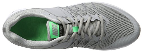 Nike Herren Air Relentless 6 Laufschuhe Grau (Wolf Grey/Electro Green-Black-White)