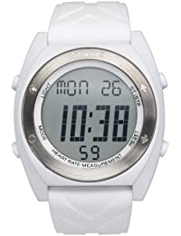Solus Unisex Digital Watch with LCD Dial Digital Display and White Silicone Strap SL-310-006