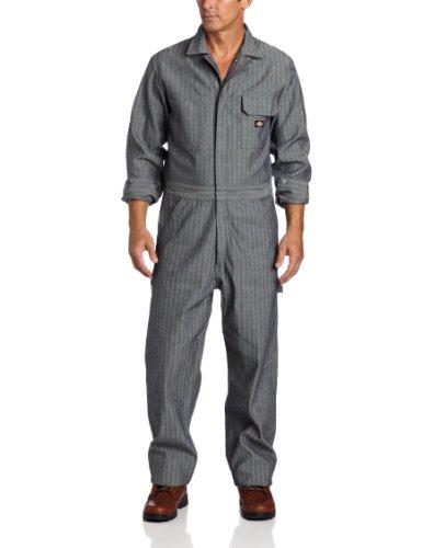 Dickies - - Herren Fisher Stripe Langarm-Overall, Medium x Regular, Fisher Stripe