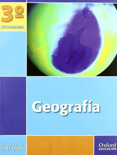 Geografía 3º ESO Ánfora (Comunidad de Madrid). Pack (Libro del Alumno + Monografía + Mapas) - 9788467330939