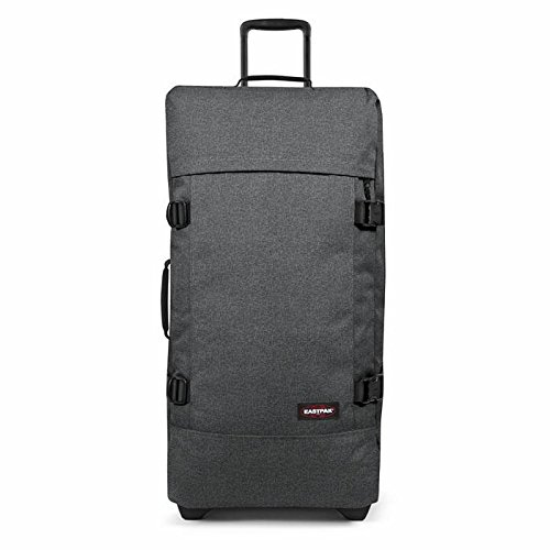 Eastpak Tranverz L Maleta, 79 cm, 121 Litros, Color Black Denim (Gris)