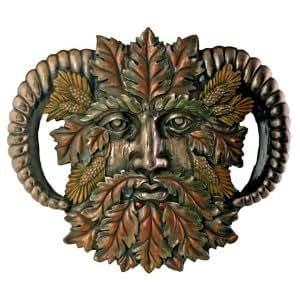 Green Man Autumn Equinox Plaque By Nemesis Now - New Range
