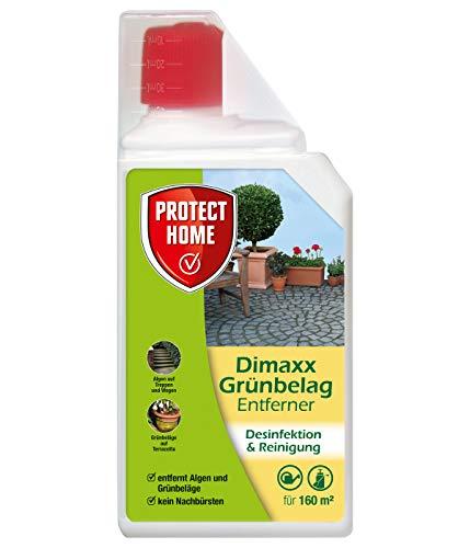 PROTECT HOME Dimaxx Grünbelag-Entferner, gegen Grünbeläge und Algen, 1 Liter