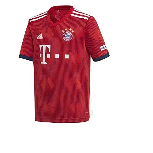 adidas 2018-2019 Youth FC Bayern Munich Home Jersey -