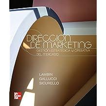 DIRECCION DE MARKETING de Jean-Jacques Lambin (11 may 2009) Tapa blanda