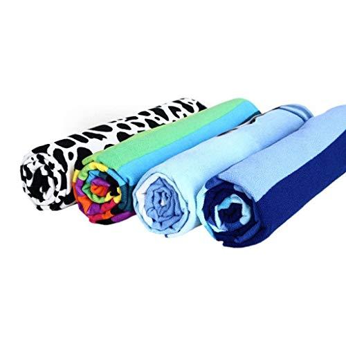 ZR Microfaser weiches Handtuch Größe/mit Polyester bedrucktes Strandtuch für Erwachsene Geeignet für Reisen, Sport, Fitness, Camping, Schwimmen, Yoga, Strand, Bad oder zu Hause 100 cm x 180 cm