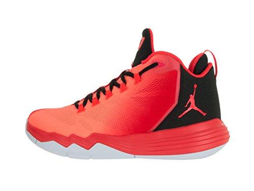 Nike Jordan Cp3.Ix Ae, Scarpe da Basket Uomo Rojo (Infrared 23 / Infrared 23-Black)