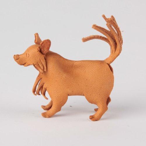 Preisvergleich Produktbild Leder Tier Pommern, mit Lederfinger Planet machen (Japan-Import)