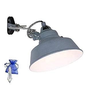 Baoblaze Wei/ß Lampenfassung E27 mit Kabel geeignet als Schreibtischlampe Buchlampe Leselampe Bettlampe usw. Lampensockel Halterung mit 170cm Kabel und Klemme