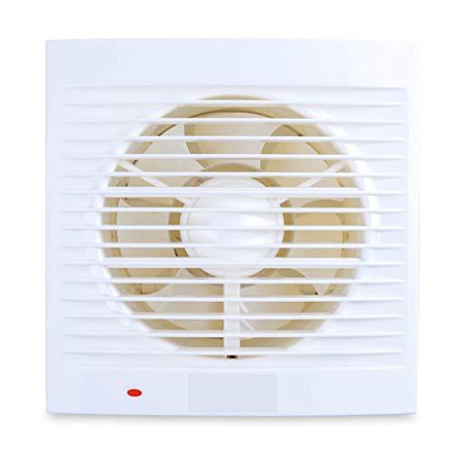 Ventoladiaspirazione Ventilatore di Scarico WC Ventilatore a Basso Rumore Ventilatore estrattore Domestico for Cucina Bagno Finestra Tipo Ventilatore di Ventilazione (Size : 4 Inches)