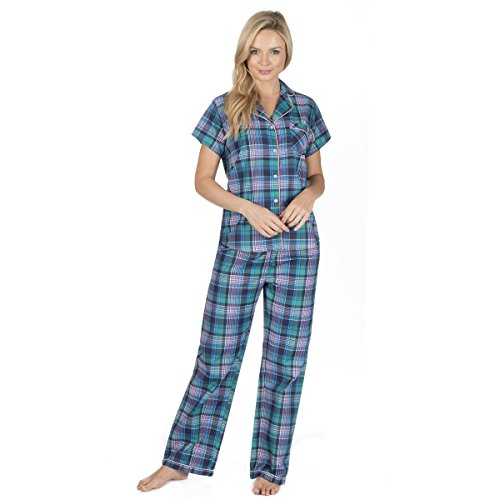 Forever Dreaming Ladies Cotton Rich Short Sleeve Pyjama Set - 413826C9vXL - Forever Dreaming Ladies Cotton Rich Short Sleeve Pyjama Set