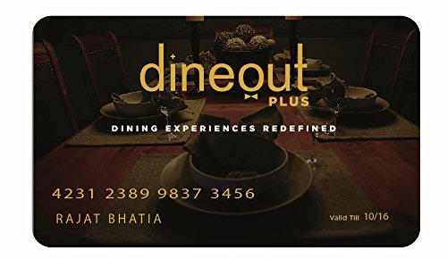 Dineout Plus Premium Dining Card - Rs.5000: Amazon.in: Gift Cards