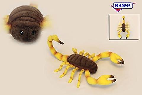 Scorpion Jouet en peluche par Hansa. 37cm. 6564