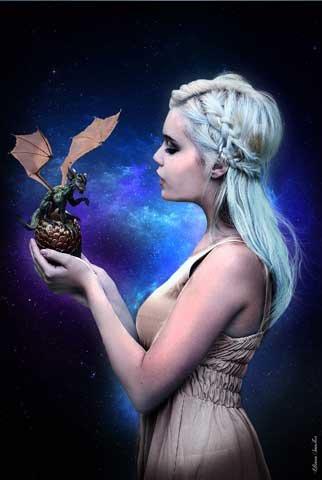 sanches, Liliana-Poster-Dragon Queen + UE di poster