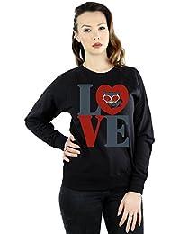 DC Comics Women's Chibi Catwoman Love Sweatshirt