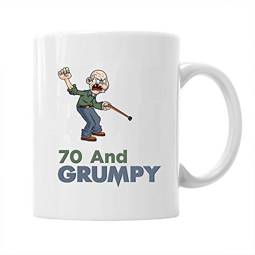70esimo Compleanno Idea Regalo Per Uomo Divertente Novità Per 70 Anni Tazza Di Caffè