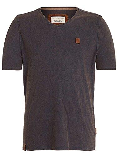 Naketano Male T-Shirt Schimpanski VIII Heritage Black