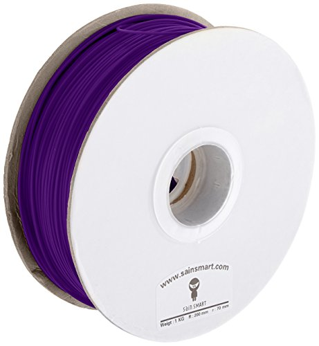 Généralement lIDI tECH 3D printing aBS filament aBS 1,75 mm 1 kg violet pour 3D imprimante reprap (réplicateur de 2 afinia, makerBot, printrbot solidoodle 2, lC-uP and makerGear m2! (afinia h-series)