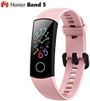 Huawei Honor Band 5 Smart Wristband 0.95'' Color AMOLED Screen Blood Oxygen Fitness Tracker 50M Waterp