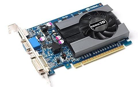 Inno3D GeForce GT 7304GB NVIDIA GeForce GT 7304GB–Grafikkarten (Aktiv, NVIDIA, Geforce GT 730, GDDR3, PCI Express x162.0, 2560x 1600Pixel)