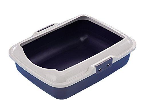 Nobby 76291-05 Katzen Toilettenschale, 50 x 40 x 16 cm, blau