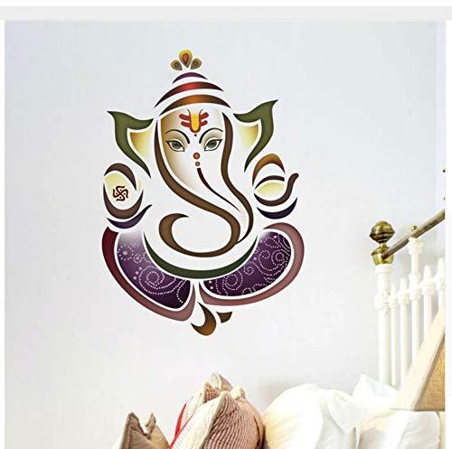 HAJKSDS Wandtattoos Wandbilder Klassischer Thailändischer Elefant Thailands Segnen Den Familienwohnwandaufkleber Für Entfernbares Wandplakat des Wohnzimmerdekorschlafzimmers