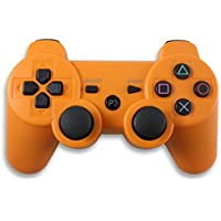 Master Lap Mando Compatible Dualshock 3 Inalambrico Naranja