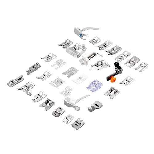Imported 32 Sewing Machine Presser Foot Feet Kit fit for...