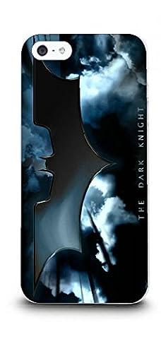 iPhone 5/5s Batman Handyhülle / Hülle für Apple iPhone 5s 5 SE / Displayschutzfolie & Stoff / iCHOOSE / The Dark Knight -