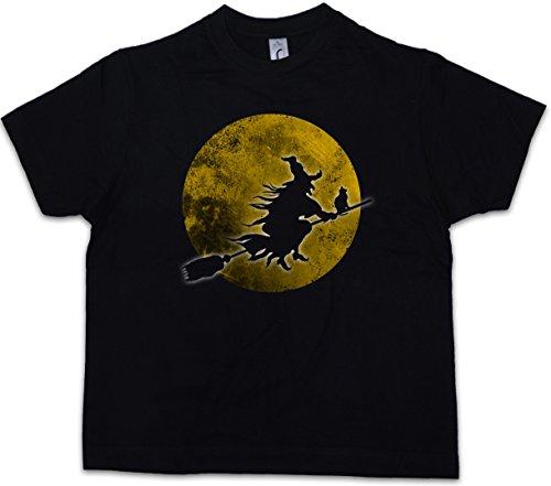 (Witch Moon Jungen Kinder Kids T-Shirt)