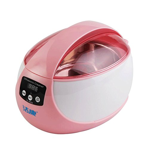 SUN LL Ultraschall-Reinigungsmaschine Gläser Reinigungsmaschine Ultraschall-Haushalts-Reinigungsmaschine Schmuck-Uhr-Zahnprothese-Reiniger Ultrasonic cleaner ( Color : B )