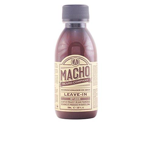Macho Beard Company Leave In Acondicionador para Barba Tratamiento Facial - 150 ml