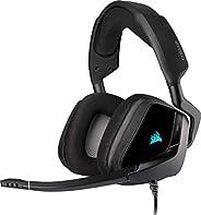 Corsair VOID ELITE RGB USB- Cuffie Gaming con Microfono Omnidirezionale Ottimizzato, Audio 7.1, Personalizzabi