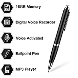 16GB digitale registratore vocale penna di Aizhy, registratore vocale...