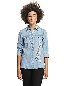 Vero Moda Damen Oberteile / Hemd vmViola Embroidery