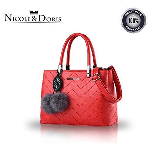 Bilis, Borsa a mano donna, Rose (rosa) - Bilis-109 Red