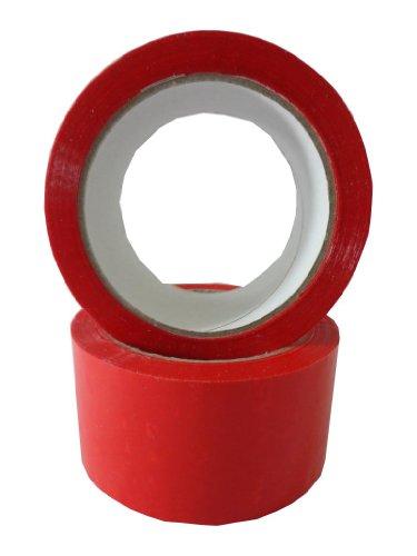 aketband Klebefilm Packband 66m X 50mm leise abrollend rot ()