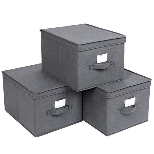 Mejor Cubos de almacenaje con tapa