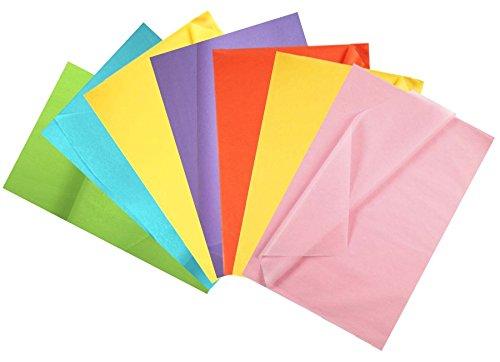 Creavvee® Decoupage Seidenpapier, 50 x 70 cm, Pastell-Soft Collektion
