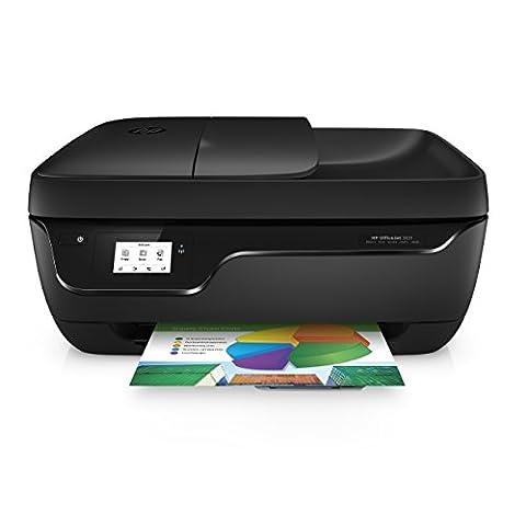 HP Officejet 3831 Multifunktionsdrucker (Drucker, Kopierer, Scanner, Fax, HP Instant Ink ready, WLAN, Airprint) schwarz
