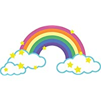 Self Adhesive Car Bike Macbook Deco Rainbow Cloud Star Child