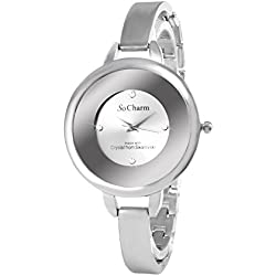 So Charm Silver Watch Made with SWAROVSKI Crystals from 4