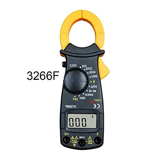Busirde Probador de Voltaje Ohmímetro Clamp multímetro Digital Abrazadera de Corriente Tenazas del amperímetro del voltímetro # 3 167x55x22cm